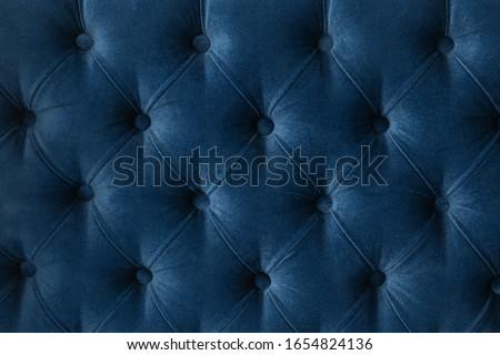 Luxus kanapé kárpit gombok elegáns otthon Stock fotó © Anneleven