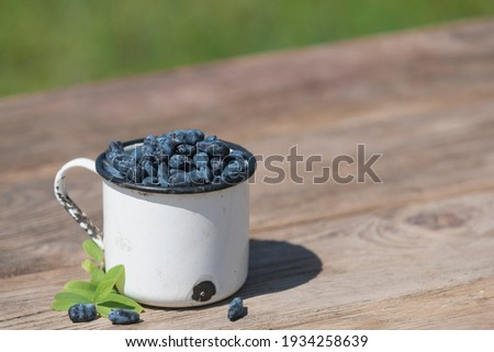液果類 · 春 · フルーツ · 食品 · 背景 · 青 - ストックフォト © galitskaya