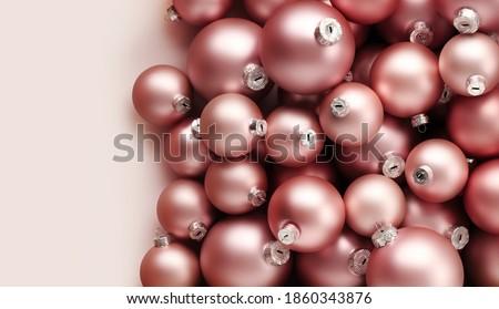 Karácsony ünnep ünnepi bőrpír rózsaszín ünnepek Stock fotó © Anneleven