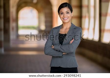 肖像 美しい 小さな 女性 執行 立って ストックフォト © wavebreak_media