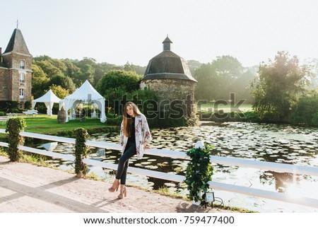 Atmosfera szczupły kobiet model Zdjęcia stock © vkstudio