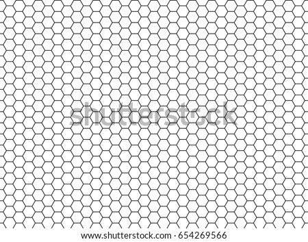 Grille Hexagonal cell texture Speaker grille seamless pattern. Vector Stock photo © Andrei_