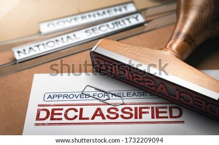 Kormány titkolózás iratok érzékeny 3d illusztráció kettő Stock fotó © olivier_le_moal