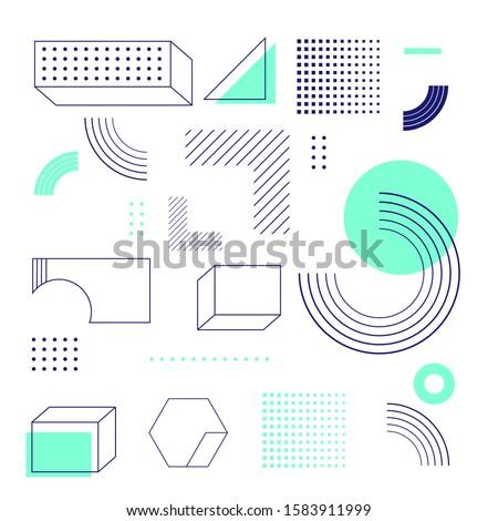 幾何学的な ロゴデザイン ビジネス アイコン 会社 ストックフォト © kyryloff
