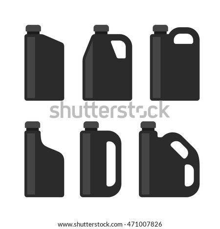 Blue Oil Can Stock photo © albund
