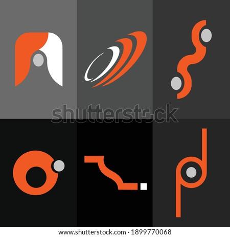 Sei marca logo stile raccolta Foto d'archivio © SArts
