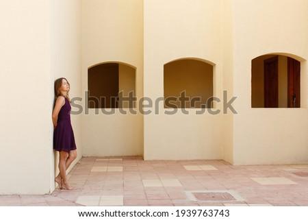 Loiro geometria clássico artístico nudez estilo Foto stock © dolgachov