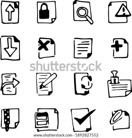 Otwarte ręce pliku dokumentu folderze pobrania Zdjęcia stock © stevanovicigor