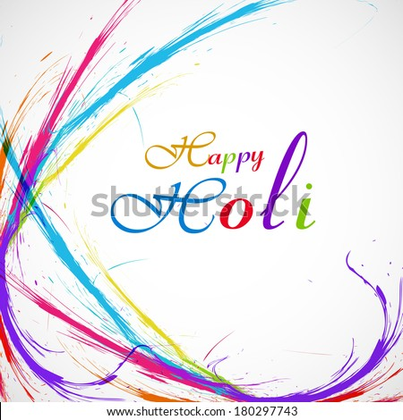 Belo grunge colorido elegante onda vetor Foto stock © bharat