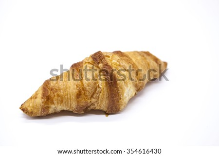 Diety świeże rogalik porcelana tablicy Zdjęcia stock © mcherevan