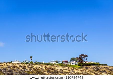 Tipikus fából készült amerikai házak külvárosi San Diego Stock fotó © meinzahn