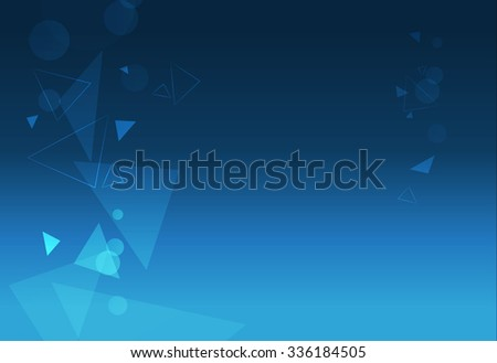 digital technology background with floating triangles and wire m Stock photo © SArts