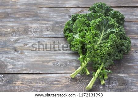 fresco · folha · repolho · verde · vegetal - foto stock © Virgin
