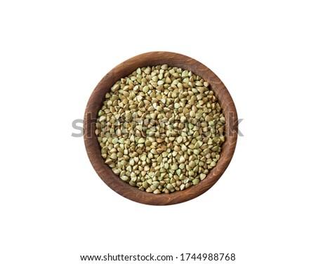 Puchar zielone zbóż odizolowany zdrowa żywność śniadanie Zdjęcia stock © MaryValery