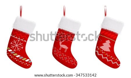 Noel stoklama yalıtılmış geleneksel tatil noel Stok fotoğraf © popaukropa