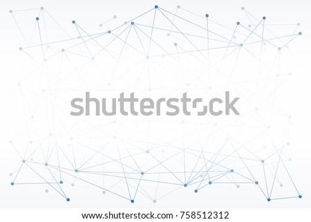 Sieci prezentacje technologii łańcucha szablon projektu Zdjęcia stock © popaukropa