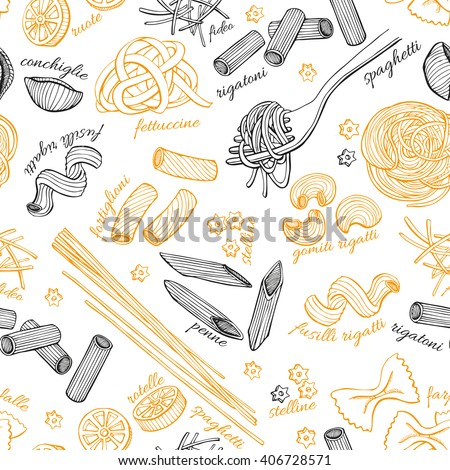 漫画 · かわいい · 手描き · のイタリア料理 · 行 - ストックフォト © balabolka