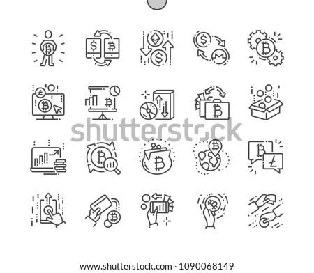 Scambio monete logo mercato emblema business Foto d'archivio © tashatuvango