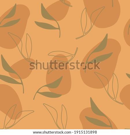 Patrón verde hoja de palma gris copiar Foto stock © artjazz