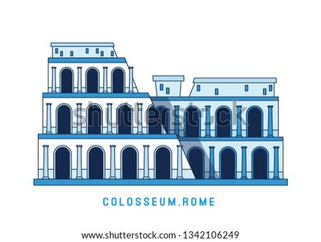 gladiador · ilustração · antigo · grego · troiano · romano - foto stock © marysan