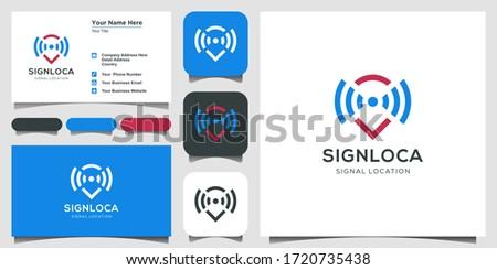 Satélite mapa antena símbolo vetor Foto stock © kyryloff