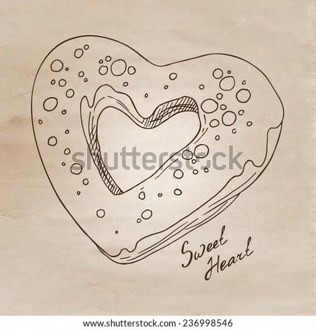 Vetor ilustração doces Foto stock © balabolka