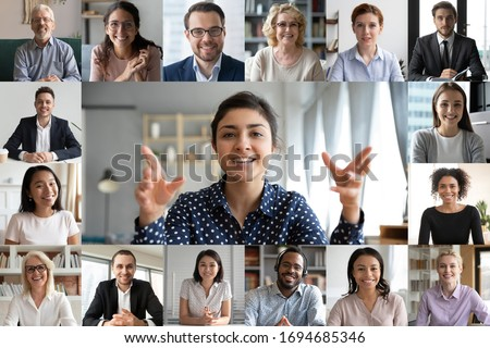 Using online connect technology for business, education and com stock photo © ijeab