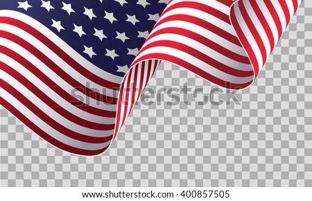 USA bandiera bianco mondo sfondo segno Foto d'archivio © butenkow