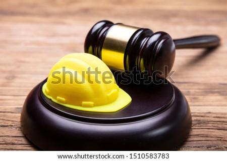 Amarelo gabela secretária Foto stock © AndreyPopov