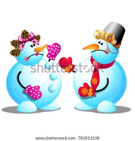 Twee geïsoleerd witte monster poster partij Stockfoto © Lady-Luck