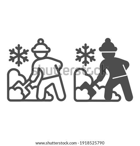 winter · stad · ontwerp · stijl · kleurrijk · illustratie - stockfoto © cienpies
