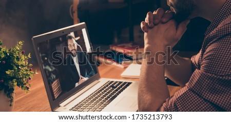 Vista lateral jóvenes diverso negocios colegas multimedia Foto stock © wavebreak_media
