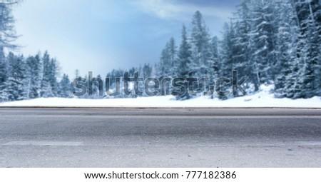 Landschap bergen winter ruimte tekst licht Stockfoto © JanPietruszka