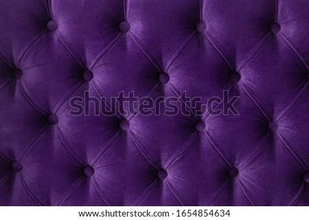 Lila luxus kanapé kárpit gombok bútor Stock fotó © Anneleven