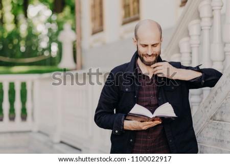 Inteligente estudiante información final examen Foto stock © vkstudio