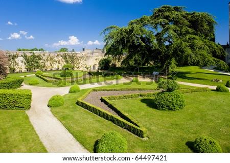 Chateau de Montreuil-Bellay, Pays-de-la-Loire, France Stock photo © phbcz