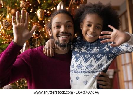 Familie seizoen relatie vriendelijk hartelijk lopen Stockfoto © vkstudio