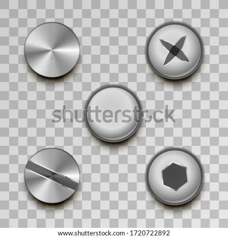現実的な 金属 透明な セット 産業 ストックフォト © evgeny89
