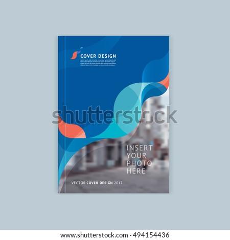 Türkiz szín üzlet éves jelentés brosúra Stock fotó © SArts