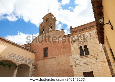 Tordesillas, Royal Convent of Santa Clara Stock photo © ribeiroantonio