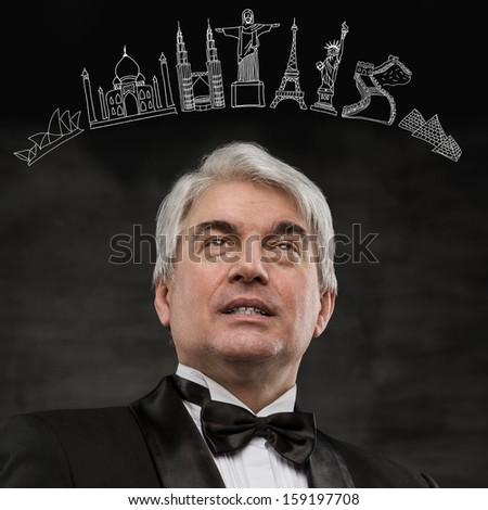 portret · człowiek · gry · faktyczny · symbolika - zdjęcia stock © HASLOO