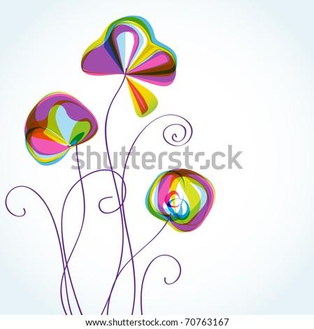 Abstracte Achtergrond Met Cirkels En Rollen Vector Illustratio Stockfoto © mcherevan