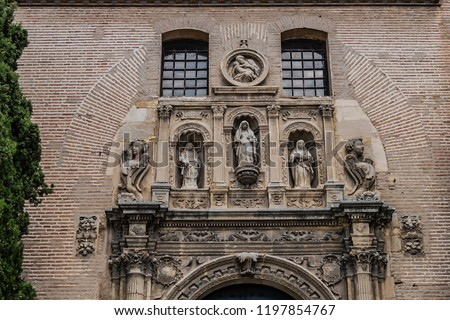 Church Iglesia of Santa Anna Rio Darro Granada Andalusia Spain Stock photo © billperry