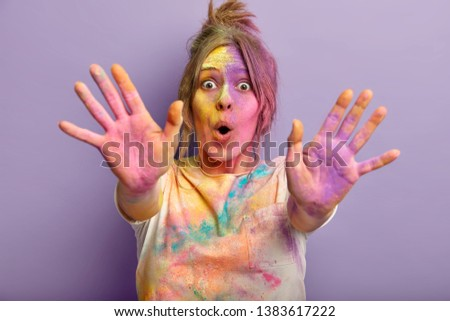 Young India woman with shocked expression isolated over white background Stock photo © bmonteny