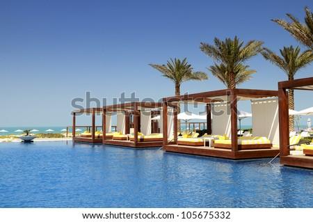 Luxo lugar recorrer estância termal férias natureza Foto stock © zurijeta