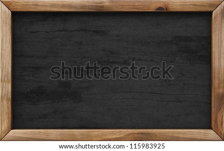 Old style wood frame 