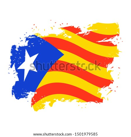 Bandera grunge estilo cepillo gotas prohibir Foto stock © popaukropa