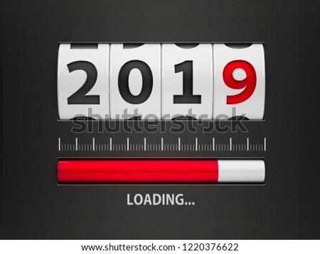 új év pult terv alkotóelem tárcsa mutat Stock fotó © Oakozhan