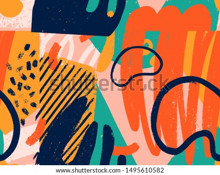 circles of seamless background abstract seamless pattern retro stock photo © popaukropa
