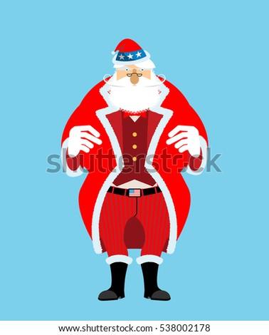 愛国的な サンタクロース キャップ 冬 帽子 叔父 ストックフォト © popaukropa